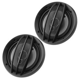 coaxial stereo NZ - VODOOL 1 Pair 6 inch 380W Car Stereo Coaxial Treble Loudspeakers Auto Audio Music Sound System Car Audio Speakers 2Pcs
