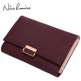 Brown Plaid Wallet NZ - Plaid Wallet Leather Wallet Zipper Female Ladies Hot Change Women Luxury Credit Card Holder Coin Medium Purses For Girls