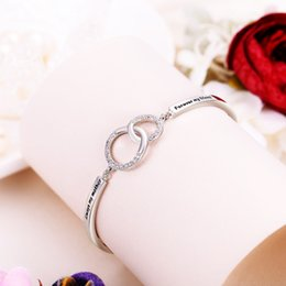 Wholesale Tuliper Minimalism Circle Bridal Bracelet Cubic Zircon Bracelet For Bridesmaid Women Wedding Party Jewelry Mother s Day Gift