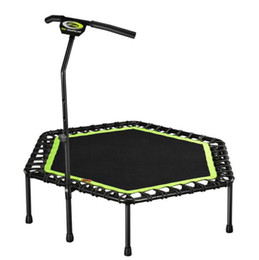 beds jump NZ - 48 inch Good elasticity trampoline Jump bed Adult Bounce bed with stable armrest
