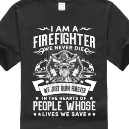 $enCountryForm.capitalKeyWord Australia - 2018 Summer New Arrival Male Best Selling T Shirt Firefighter Fireman Tee Shirt 100% Cottont Transfers Hipster