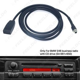 aux input for car NZ - Car 3.5mm Female AUX Input Cable Adapter Only For BMW E46 With Business CD Radio Headunit #6253