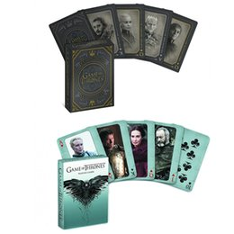 $enCountryForm.capitalKeyWord Australia - Game of Thrones paper card a song of fire and ice poker cards game for the TV series lovers home novelty poker sets kids&adults cosplay