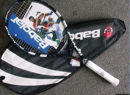 $enCountryForm.capitalKeyWord Australia - High Quality Carbon Fiber Tennis Racket Racquets Equipped with Bag Tennis Grip2013