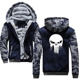 $enCountryForm.capitalKeyWord NZ - mens clothing Sweatshirt Anycuros Dripping Melting Bloody Print Thicken Zipper hood Casual Mens coat
