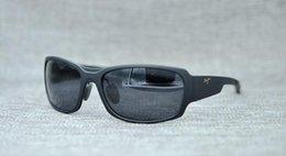 ada898a7b0d Brand designer maui jim sunglasses mj415 rimless 415 Uv protection luxury  men women driving outdoor polarized sunglasses with mj case