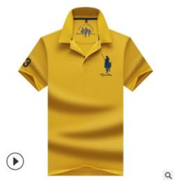 $enCountryForm.capitalKeyWord NZ - New arrived summer 2019 men's short sleeved T-shirt pearl cotton lapel plain men's T-shirt designer polo shirts men designer t shirts