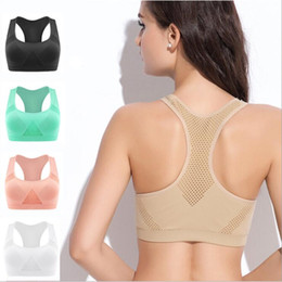 3be0ae342e Women Yoga Sports Bra For Running Gym Adjustable Spaghetti Straps Padded  push up Seamless Top Athletic Fitness Vest bra S M L XL