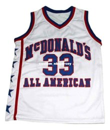 5548cc952d4 wholesale Kobe Bryant  33 McDonald s All American Basketball Jersey White  Stitched Custom any number name MEN WOMEN YOUTH BASKETBALL JERSEYS