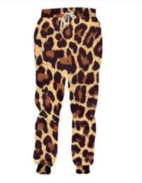 Men Leopard Print Pants NZ - New Fashion Leopard 3d Printed Salty Japanese Noodles Jogger Sweatpants Women Men Full Length Hip-hop Trousers Pants RG035