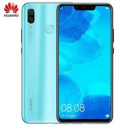 huawei google phone 2019 - Original Huawei nova 3 6GB 128GB Android 8.1 Mobile Phone Kirin 970 Qcta-core Dual Front Back Camera 24.0MP+2.0MP 24.0MP