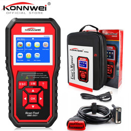 $enCountryForm.capitalKeyWord Australia - OBD2 ODB2 Scanner Auto Diagnostic Scanner KONNWEI KW850 Full Function Car Diagnosis Car Scanner Universal OBD Engine Code Reader