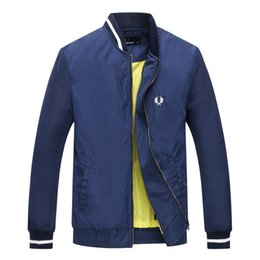 Mens jacket trend online shopping - 2019 mens brand jackets New urban leisure trend Golf mens autumn and winter jackets golf sports casual mens jersey warm jacket