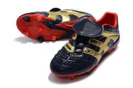 $enCountryForm.capitalKeyWord Canada - Top Quality Dark Blue Gold Football Boots Dream Back 98 Predator Accelerator Electricity FG IC Soccer Shoes Soccer Cleats Sports Shoes