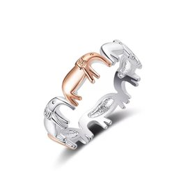 $enCountryForm.capitalKeyWord NZ - T766 Simple 925 Sterling Silver Animal Ring Round Design Gold For Women Jewelry J190716