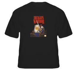 Box S Video UK - Dragon Warrior Quest Box Retro NES Video Game T Shirt Men Women Unisex Fashion tshirt Free Shipping black