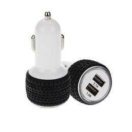 $enCountryForm.capitalKeyWord Australia - SZAICHGSI 500pcs lot Car Charger 5V 2.1A With LED Display Universal Dual Usb Port Phone Car Charger Adapter Cigarette Socket Lighter