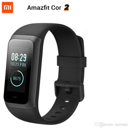 $enCountryForm.capitalKeyWord Australia - Original XiaoMi Huami Amazfit Cor 2 Band 2 Smart wristband Waterproof 5ATM 2.5D IPS Stainless Steel Frame GPS men watch For Android & IOS