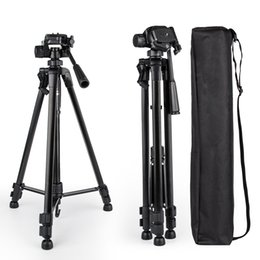 professional camcorder tripods UK - Meking New 140cm 55inch Professional Tripod Stand for Camera Camcorder Black Aluminium Adjustable Tripod Tripe Extensor Para Foto