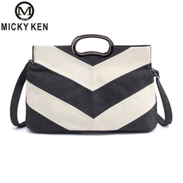 $enCountryForm.capitalKeyWord Australia - Flap V Women's Luxury Canvas Clutch Bag Lady Handbags Brand Female Messenger Bags Sac A Main Femme Famous Tote Bag Freya Safi SH190812