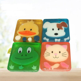 $enCountryForm.capitalKeyWord Australia - 100% natural children cartoon Oil Handmade Soap Portable Bath Shower Supplies Bathroom Decor LX6639
