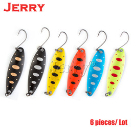 $enCountryForm.capitalKeyWord Australia - Jerry 5pcs 3.3g 5g artificial fishing lures lightweight trolling spoons for trout perch metal spinner bait Y18101002