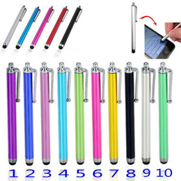 $enCountryForm.capitalKeyWord NZ - Stylus Pen 9.0 Colorful Capacitive Pen Touch Screen Sensitive Pen For Universal Mobile Phone Tablet iPod iPad cellphone
