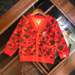 $enCountryForm.capitalKeyWord Australia - Children Cardigan Kids Designer Clothing Autumn Fashion Boys and Girls New Elastic Cotton Terry Cardigan Camouflage Design