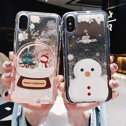 Luxury Dynamic Liquid Glitter Sand Quicksand Star Cases Capa For iphoneX XS  MAX XR 6 6S 7 8 Plus SE 5 5S Crystal Clear phone Back Cover f6bab13d0f54
