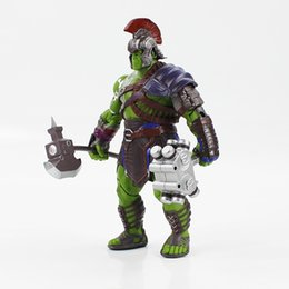 toy robert UK - 21cm Thor 3 Ragnarok Hulk Robert Bruce Banner Pvc Action Figure Model Collection Kids Toy Doll C19041501