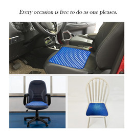 $enCountryForm.capitalKeyWord NZ - Gel Chair Seat Cushion Provide Relief for Lower Back Hip Pain Airflow Orthopedic Design Seat Pad Store