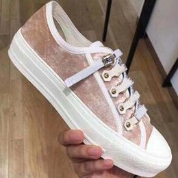 beautiful canvas shoes Australia - 2020 New spring show catwalk new fashion canvas casual shoes womens beautiful Flat shoes Sports and leisure shoes sneacker nb2