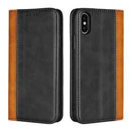 Wallet Apple Australia - iPhone XS Wallet Case, Assorted Color Flip Cover[Kickstand Feature] For Apple iPhone 6,7,8,X,XS,XS MAX,XR