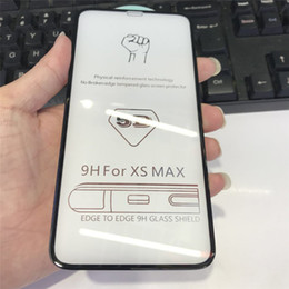 iphone glass screens for sale NZ - Hot Sale For iphone 11 11pro screen protector 5D Full Front tempered glass Screen Protector Film For iPhone X Xr Xs Xs Max 8 7 6 in stock