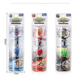 BeyBlade starter online shopping - 4D Beyblade Burst Starter Zeno Excalibur B B B With Launcher GYRO And Retail Box Gifts For Kids