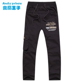 $enCountryForm.capitalKeyWord NZ - Hot Sales Autumn and Winter Boys Clothing 100% Cotton Baby Casual Trousers Full-length Children Sports Pants for Kids 6-15