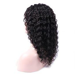 $enCountryForm.capitalKeyWord UK - Brazilian Virgin Human Hair Wig Kinky Curly Lace Front Wigs Brazilian Hair Lace Front Wig Deep Kinky Curly Human Hair Cosplay Wig Black
