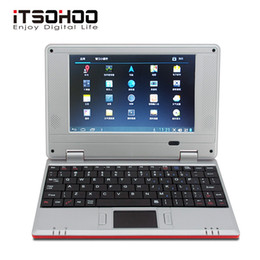 $enCountryForm.capitalKeyWord Australia - 5 Colors Low price 7 inch Android Netbook mini laptop students computer with RJ45 wifi Red pink green white black for kids