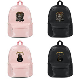 Rock masteR online shopping - 2019 summer new arrival Fashion Print Slim metallica master of puppets rock Anime Backpack for Water Resistant Manufacturers selling Gay
