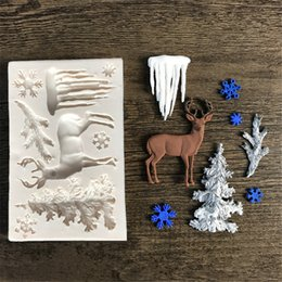 $enCountryForm.capitalKeyWord Australia - Wholesale Tree Fondant Silicon Jewelry Molds Chocolate Candy Shap Cookies Form Cake Diy Tools