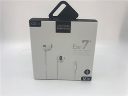 Remote Pack Australia - 7-generation 8p with New Paper packing Top Quality headset in ear earphone With Remote and mic for iphone 7 8 X XR Bluetooth headphone I7 I8