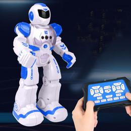 $enCountryForm.capitalKeyWord Australia - RC Remote Control Robot Smart Action Walk Sing Dance Action Figure Gesture Sensor Toys Gift for children free shipping