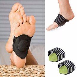 1 Пара Здоровья Ноги Защитить Уход Боли Арка Поддержка Подушка Footpad Run Up Pad Foot Новый Стиль Женщины Мужчины Тренажерный Зал Поддержка Well Sell