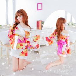$enCountryForm.capitalKeyWord Australia - Charming and charming underwear wholesale game uniform Japanese-style kimono Platinum Rose 8114 Japanese-style modified kimono ladies