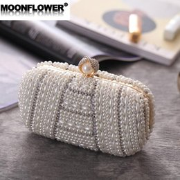 Discount casual side bag - outlet brand women handbag handmade beaded women dinner bag boutique double-sided pearl banquet hand bag banquet nightcl
