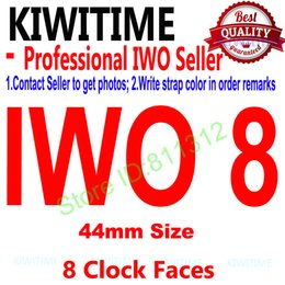 Android 5.1 Smart Watch NZ - IWO 8 44mm smart watch Series 4 1:1 fitbit wmartwatch Case for iOS Android Heart Rate ECG Pedometer Upgrade of IWO 5