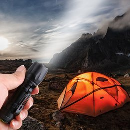 nature pen Australia - Portable LED Flashlight Torch Lamp Pocket Pen Light Waterproof Lantern 14500 Battery Power For Outdoor Camping Hiking Fishing