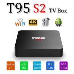 $enCountryForm.capitalKeyWord Australia - 2019 Cheapest T95 S2 2GB 16GB Quad Core Amlogic S905W Android 7.1 TV Box Arabic IPTV Media Player