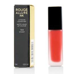 Natural Coloured Lipstick Australia - City Color Lip Makeup France Beauty Brand Rouge Allure Ink Matte Liquid Lipstick Lip Colour 6mL - 144