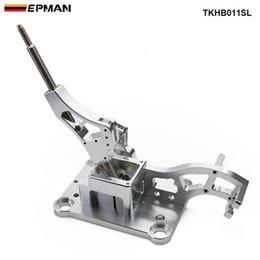 EPMAN Race-spec Billet Gear Shifter Box Manual Para Acura RSX Para Cívico K-swap EG EK DC2 EF TKHB011SL en venta